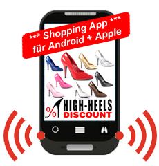 Hol Dir HIGH-HEELS-DISCOUNT auf Dein Handy!